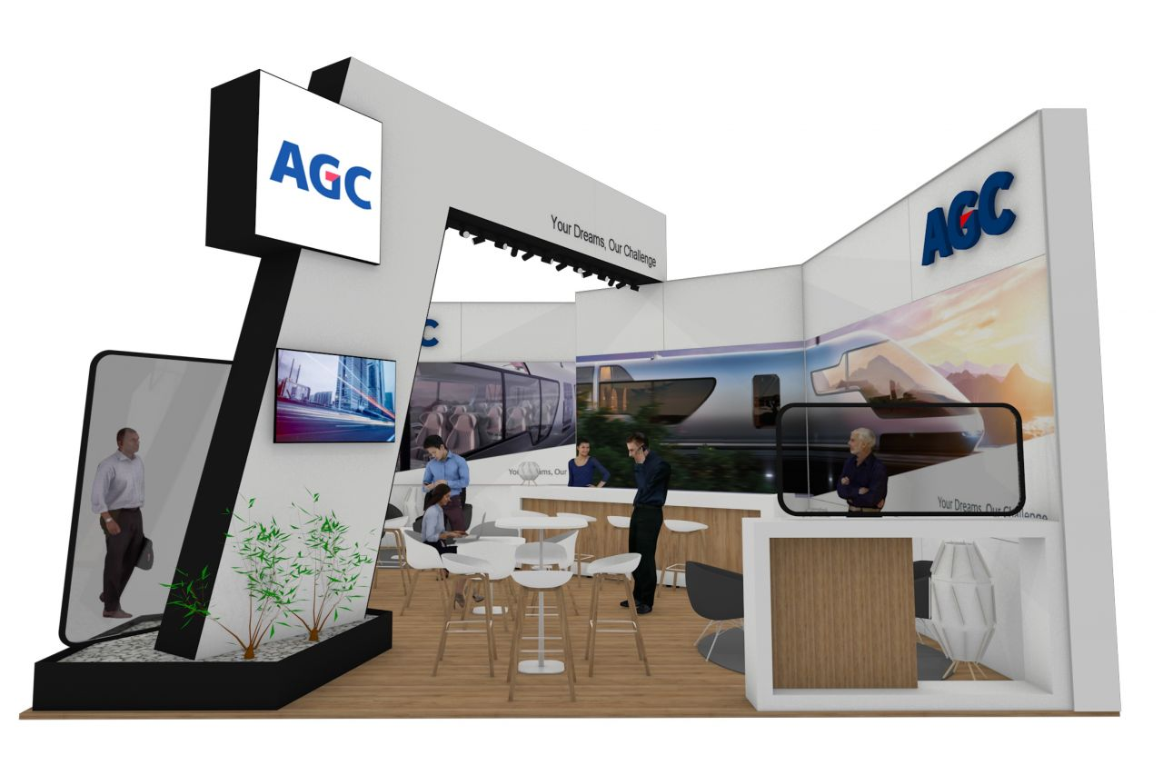 AGC at Innotrans with smart glass for transportation