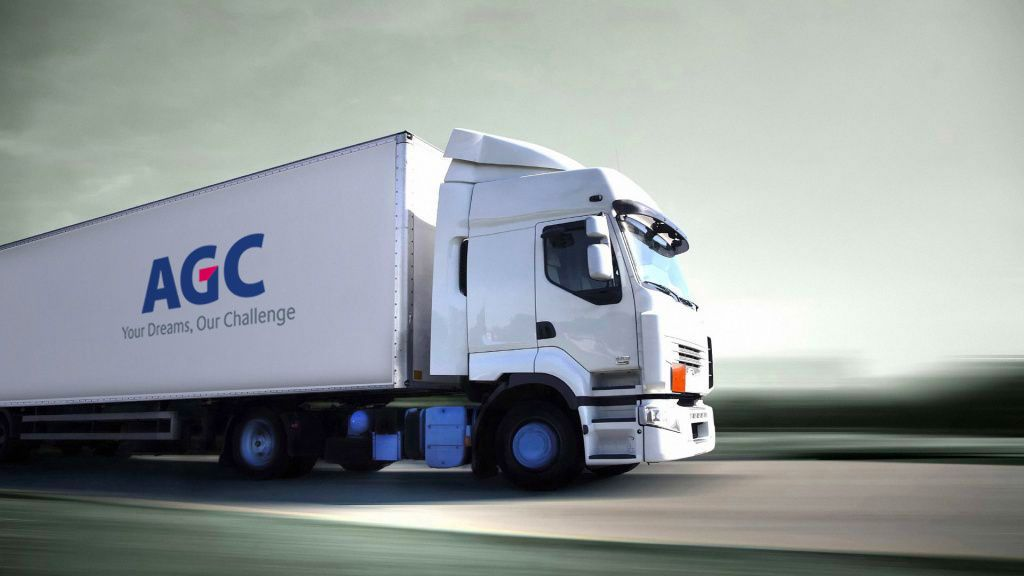 Delivery logistics, AGC Automotive supply chain