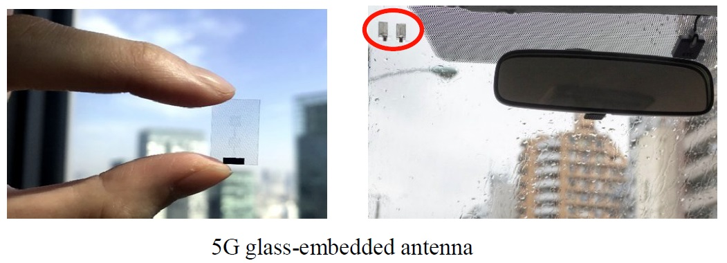 DOCOMO, AGC and Ericsson Achieve World's First 5G Communication Using Glass Antenna for 28 GHz