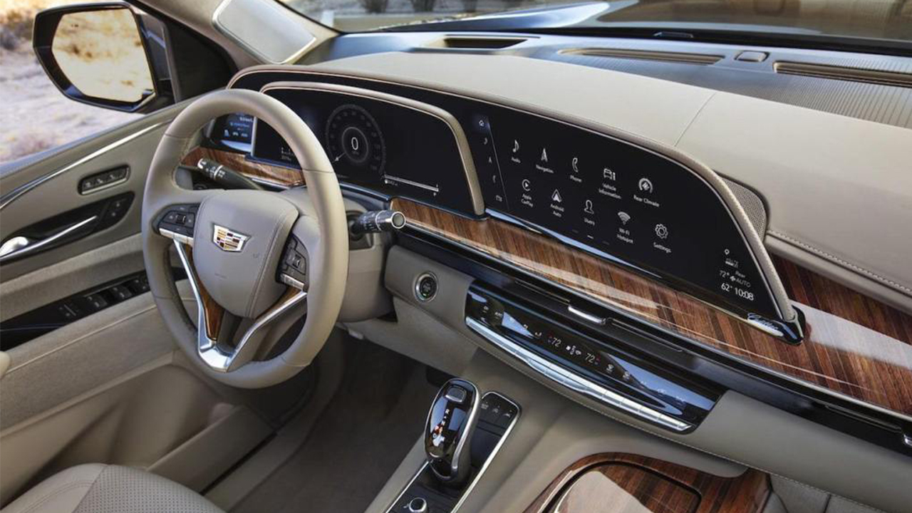AGC Curved-Large Cover Glass for Car-mounted Displays to Be Used in New 2021 Cadillac Escalade